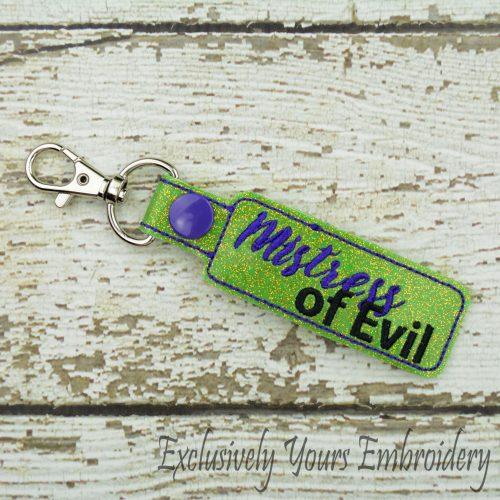 Mistress of Evil Keychain