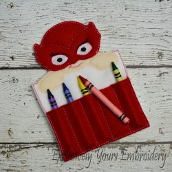Owlette Inspired Crayon Holder