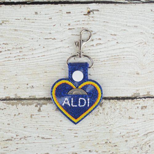 Aldi Heart Keychain