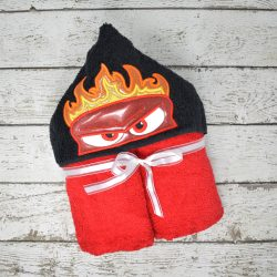 Anger Hooded Towel