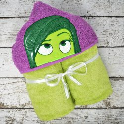 Disgust Hooded Towel