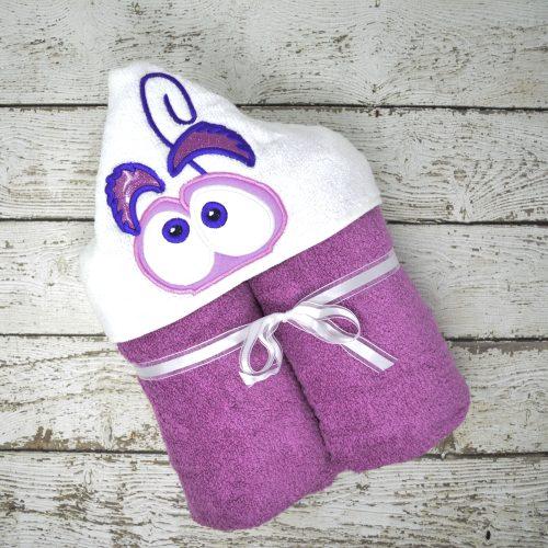 Fear Hooded Towel