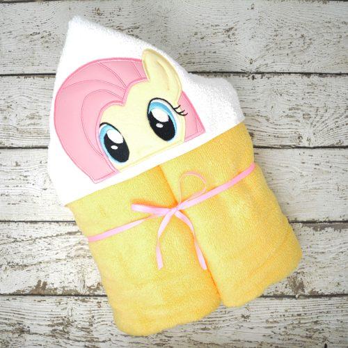 Fluttershy Hooded Towel