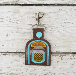 Jukebox Keychain