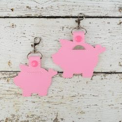 Piggy Bank Keychain