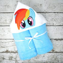 Rainbow Dash Hooded Towel