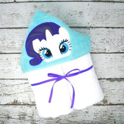 Rarity Hooded Towel