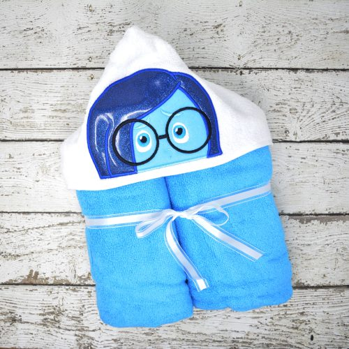 Sadness Hooded Towel
