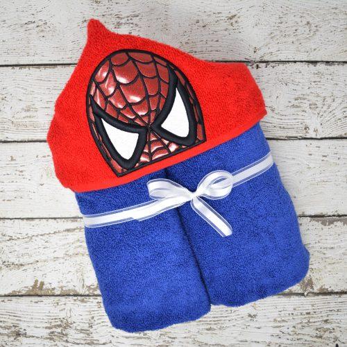 Web Hero Hooded Towel
