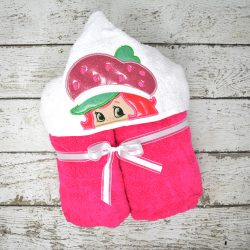 Strawberry Shortcake Hooded Towel