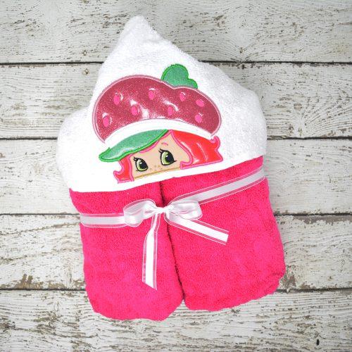 Strawberry Shortcake Hooded Towel