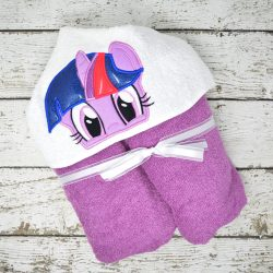 Twilight Pony Inspired Hooded Towel