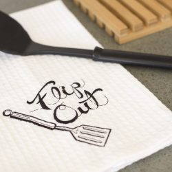 Flip Out Kitchen Towel