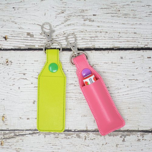 Lip Balm Keychain Holders