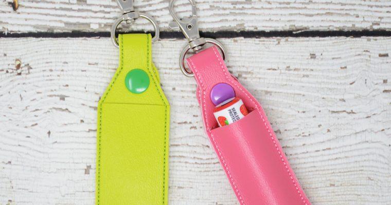 Lip Balm Keychain Holders