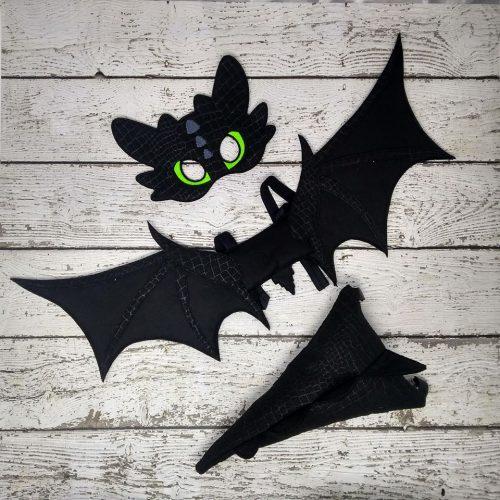 Black Dragon Costume
