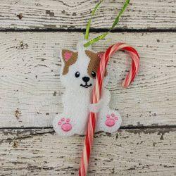 Cat Cane Holder Ornament