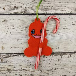 Charmander Cane Holder Ornament