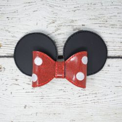 Mrs Mouse Bow Hair Accessory