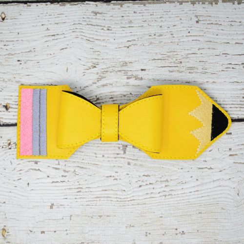 Pencil Bow Hair Accessory