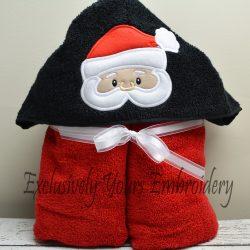 Santa Hooded Towel