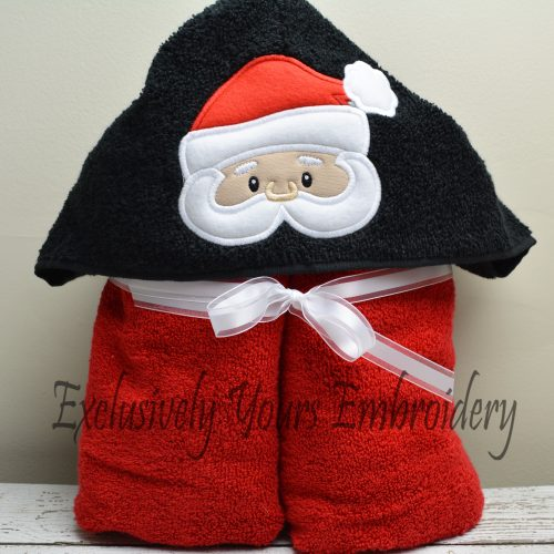 Santa Hooded Towel