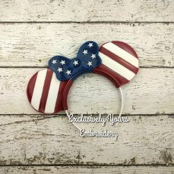 Mrs. Americana Headband Ears