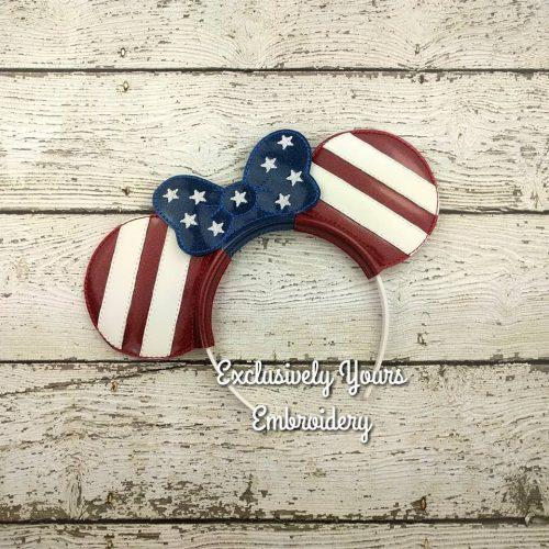 Mrs. Americana Headband Ears