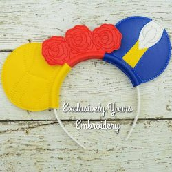 Beauty and the Beast Headband Ears
