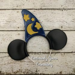 Wizard Mouse Headband Ears