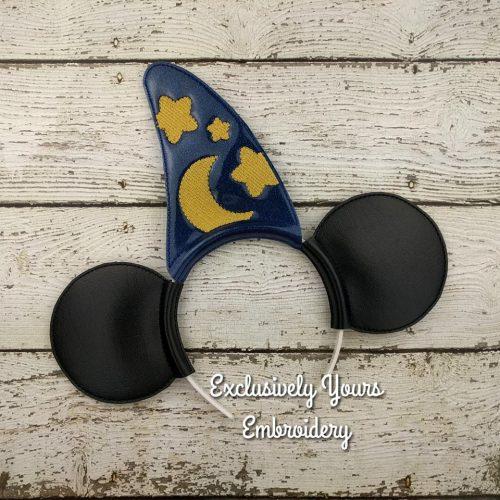 Wizard Mouse Headband Ears