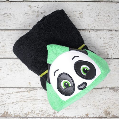 Panda Hooded Towel