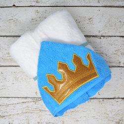 Prince Crown Hooded Towel