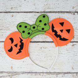 Jacko Lantern Headband Ears