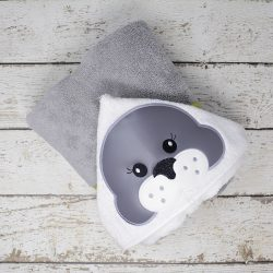 Seal Hooded Towel