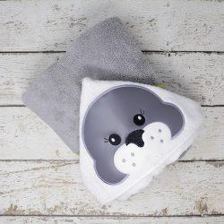 Seal Hooded Towel