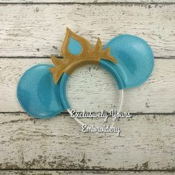 Norwegian Ice Queen Headband Ears