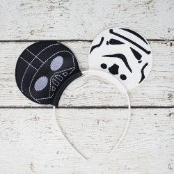 Darth Vader Storm Trooper Headband Ears