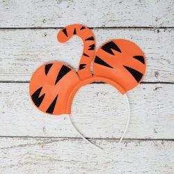 Bouncing Tiger Headband Ears