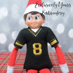 Sports Jersey Elf Sweater