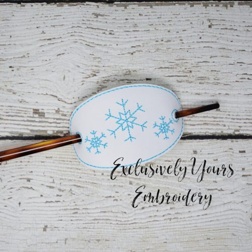 Ice Queen Hair Stick Accessory
