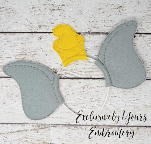 Flying Elephant Headband Ears