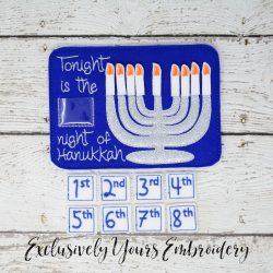 Hanukkah Countdown