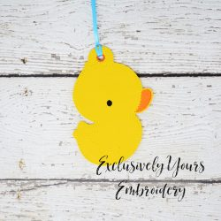 Rubber Ducky Ornament
