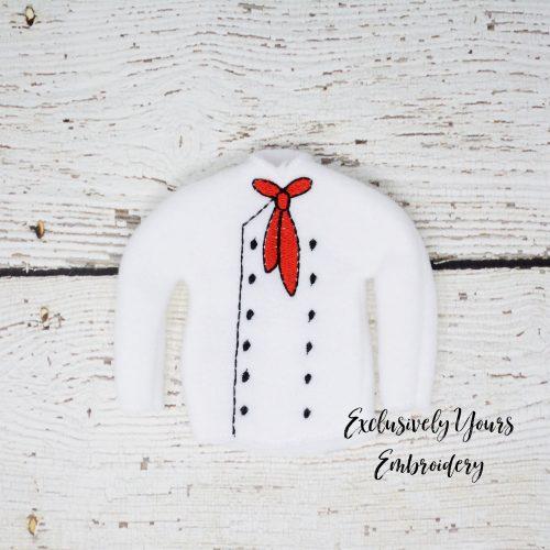 Chef Jacket Elf Sweater