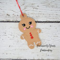 Ginger Bread Girl Ornament