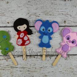 Lilo and Stitch Stick Puppet Set