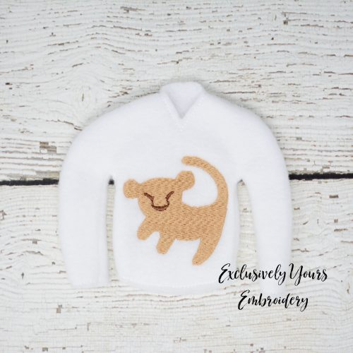 Lion Cub Elf Sweater