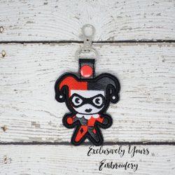 Chibi Harley Quinn Keychain