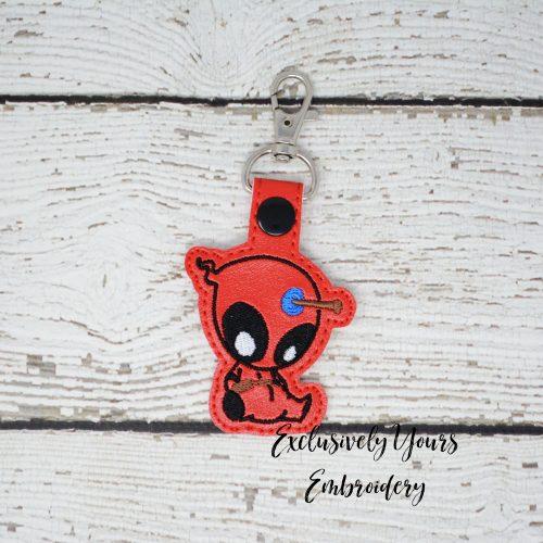 Chibi Deadpool Keychain